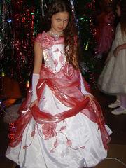 бальное платье на девочек 8-11лет.