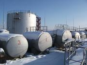 Действующую нефтебазу в г. Петропавловске.