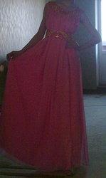 Продам вечернее платье XS,  S в нац. стиле