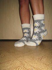 Рассказовские шерстяные носки - оптом