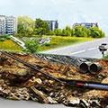 Прокладка трубопроводов водоснабжения в Петропавловске